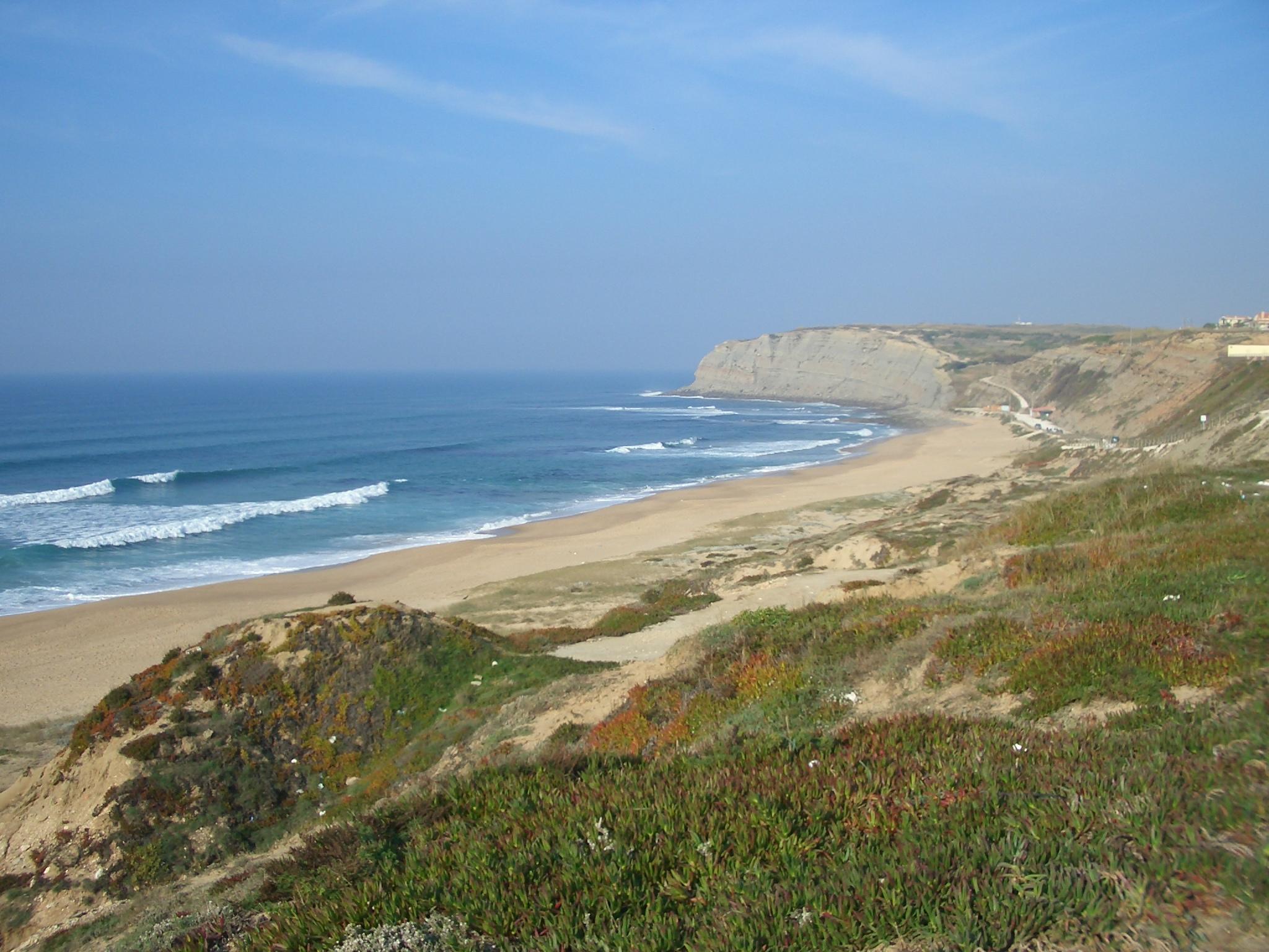 Strand von Santa Cruz (Torres-Vedras) ,5 Autominuten vom Rockstar Studio entfernt