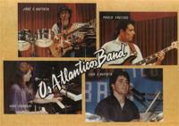Os Atlanticos Band Fan Card 1988-90