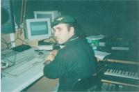Carlos Batista no Rockstar Studio 1 em Neuss/Alemanha